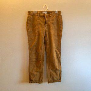 Anthropologie Tan Wanderer Cargo Pants